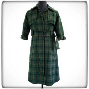 Vintage Inspired B.B. Dakota Wool Trenchcoat